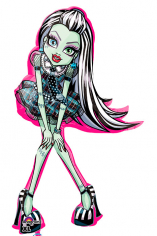 Шар Фигура, Монстр Хай Фрэнки Штейн / Monster High Frankie Stein (в упаковке)